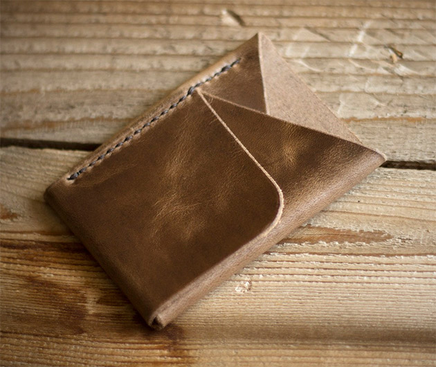 InkLeaf Double-Cross Wallets
