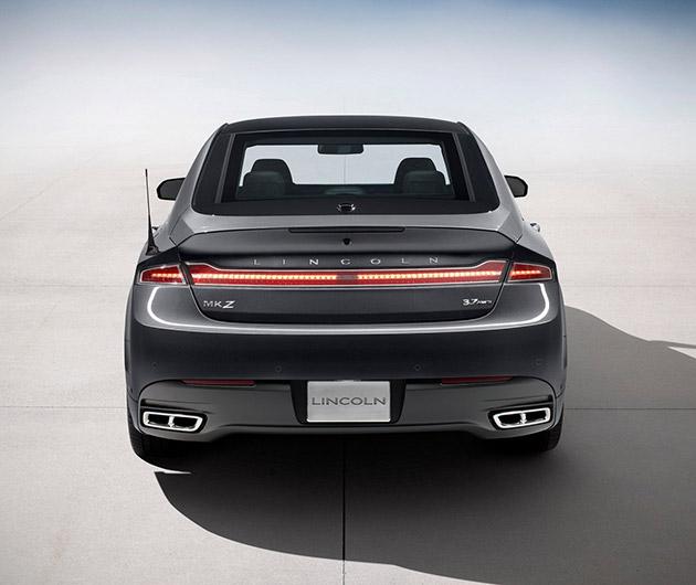 2014 Lincoln Mks Suspension: 2014 Lincoln MKZ