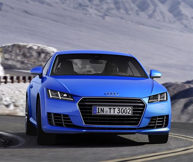 used 2014 audi tt coupe pricing features edmunds. Black Bedroom Furniture Sets. Home Design Ideas