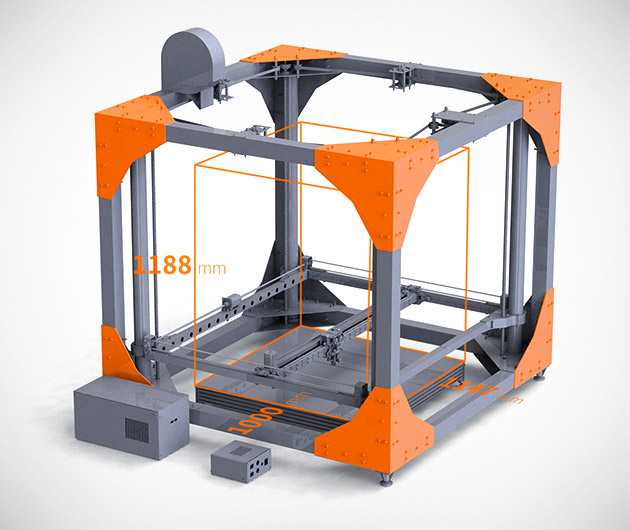 BigRep Large Scale 3D Printer