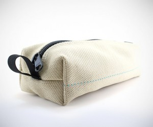 Recycled Firefighter Toiletry Bags