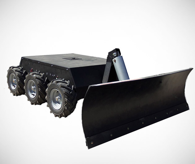 Robot Snow Plow