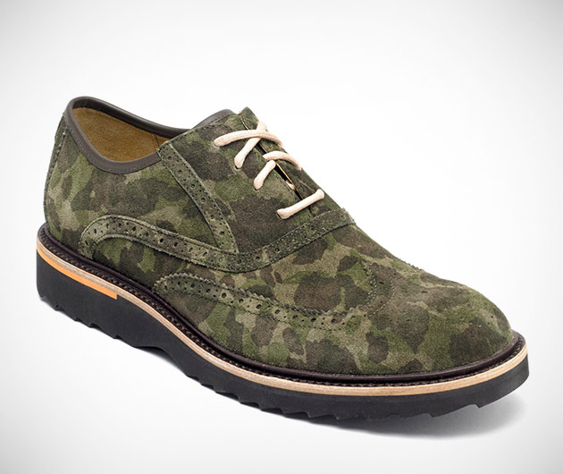 Rockport Union Street Wingtip Camo