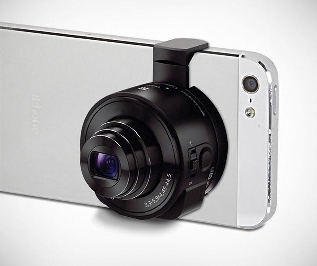 Smartphone to Telephoto Camera Converter