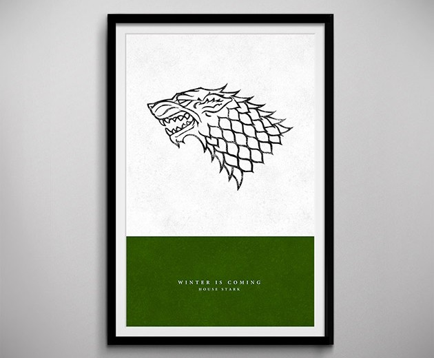 Game of Thrones Sigil Art Prints
