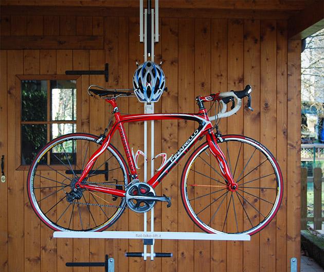 flat bike lift gearculture. Black Bedroom Furniture Sets. Home Design Ideas
