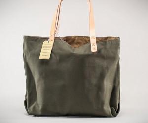 Seavees Waxed Canvas Supply Bag