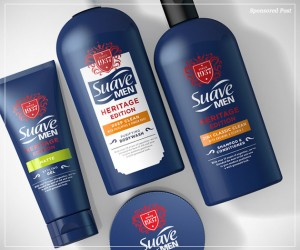 Suave Men Heritage Edition