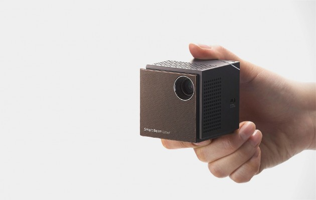 Uo smart beam laser projector gearculture for Worlds smallest hd projector