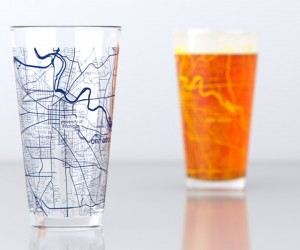 College Town Maps Drinkware