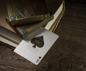 Monarch Green Edition Playing Card