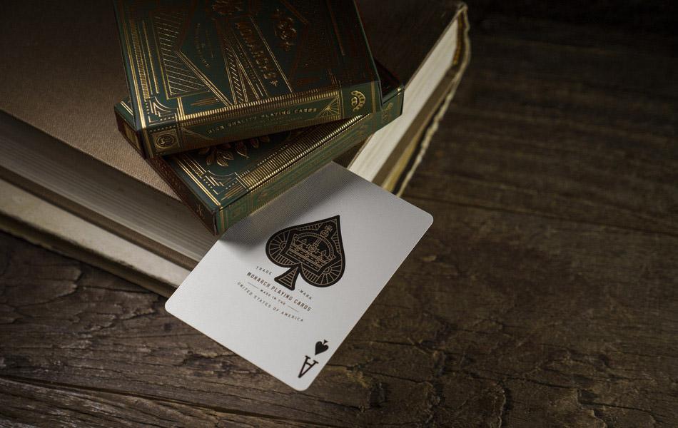 monarch-green-edition-playin-card