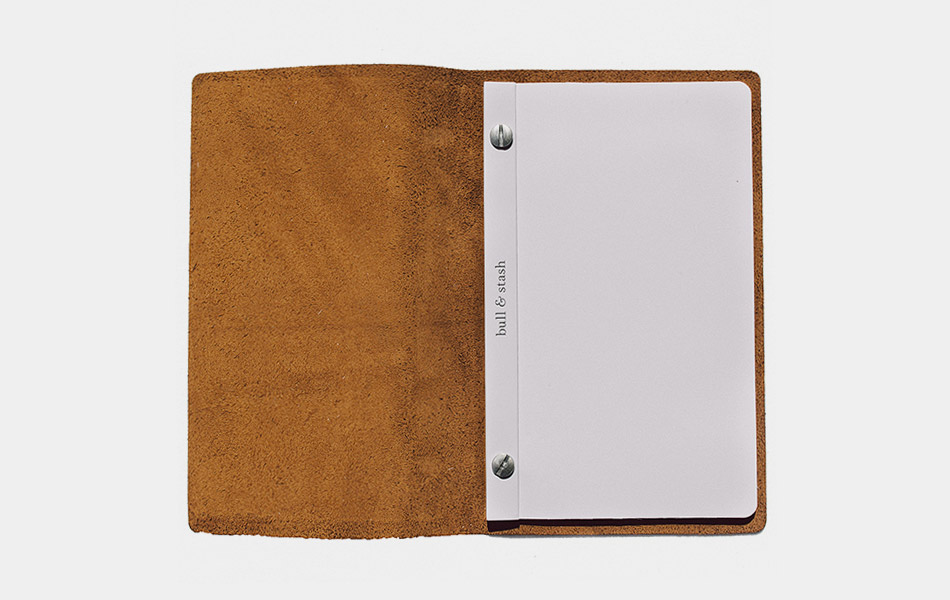 Bull & Stash Leather Notebook