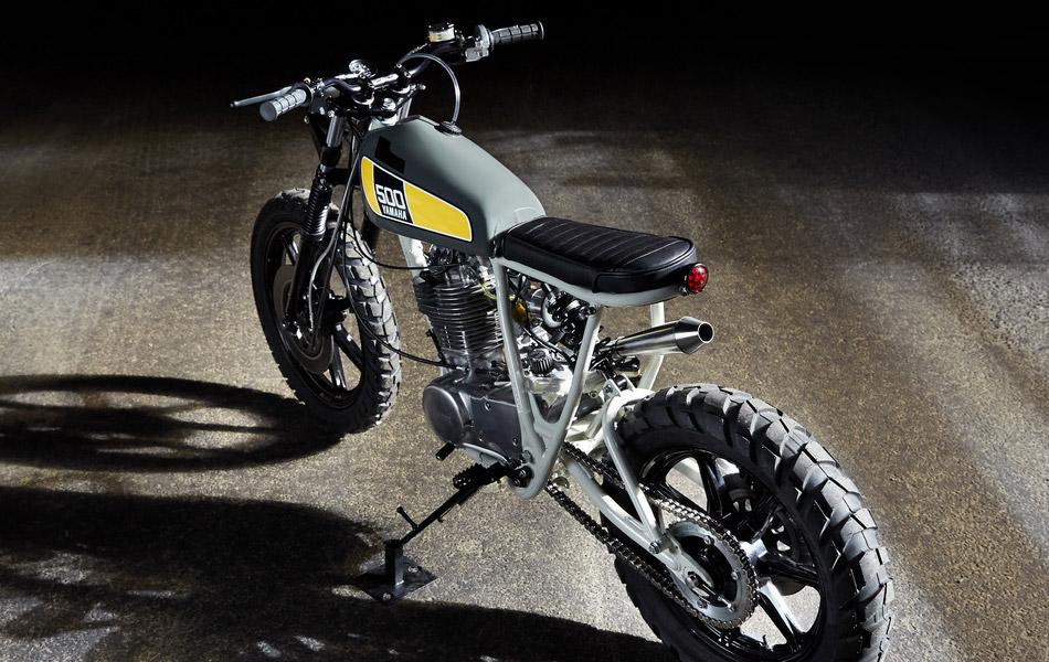 Powder Monkees Yamaha SR500 | Effronté