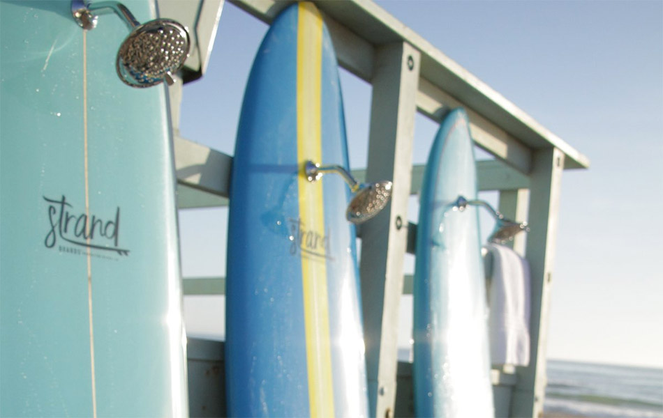 Strand Boards Surfboard Showers