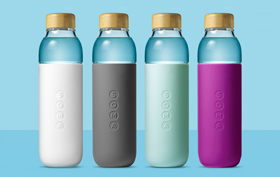 Soma Glass Water Bottle | GearCulture