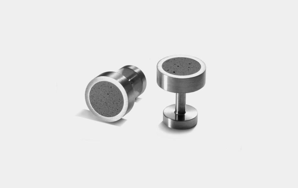 Konzuk Concrete Cufflinks
