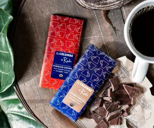 Turkish Coffee & Coconut Mocha Chocolate Bars
