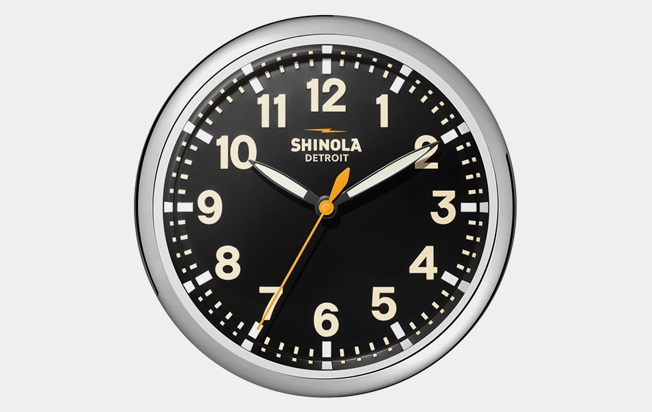 Shinola Wall Clock