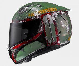 HJC Introduces Boba Fett Motorcycle Helmets