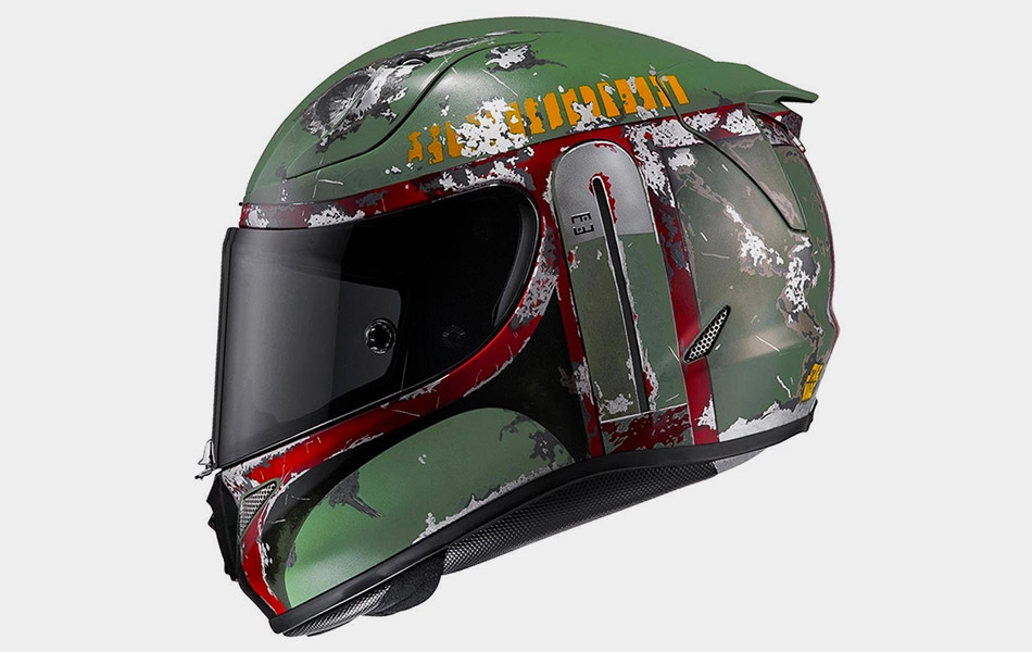 HJC Introduces Boba Fett Motorcycle Helmets