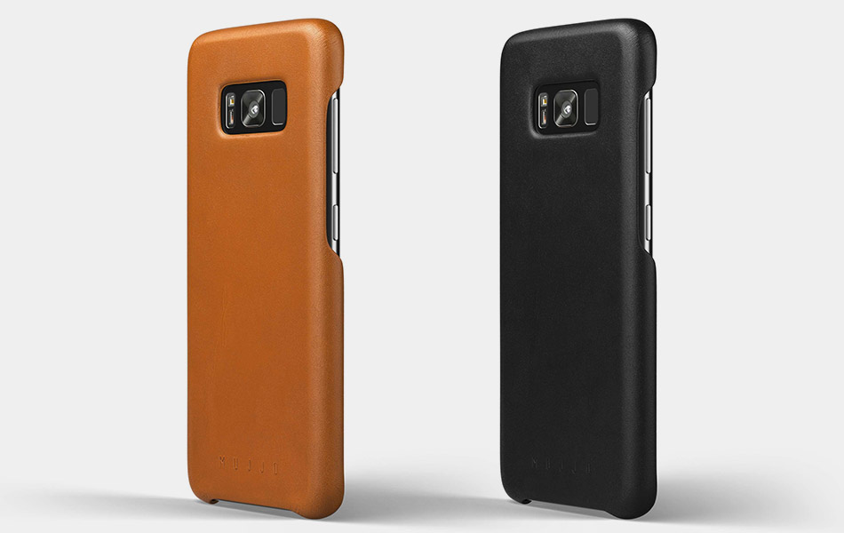 Mujjo Galaxy S8 Leather Case