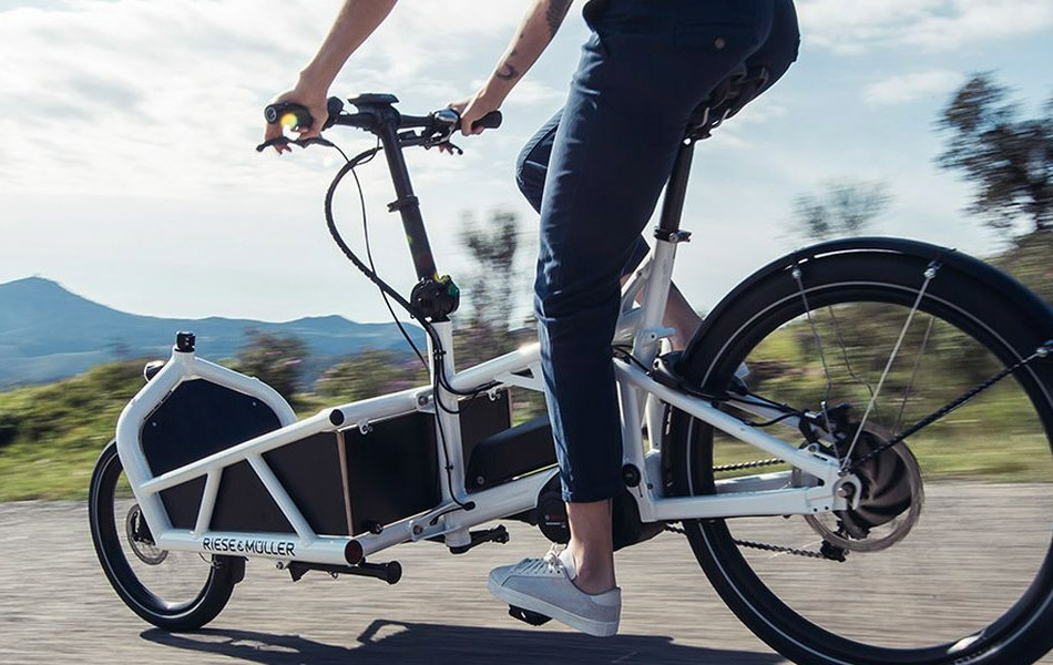 Riese & Muller E-cargo Bike