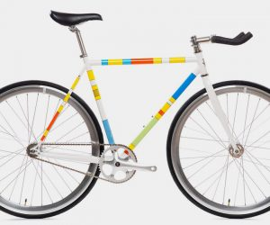 Simpsons x State Bicycle Co Color Block Bike