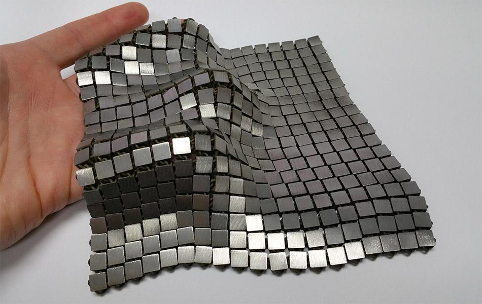 NASA 4D Printed Space Fabric