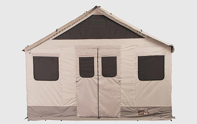 ... tent poles tent joints four stakes four nylon cord tie downs an extended all-weather cover. In other words it has everything you need for a safe ... & Barebones Living Lodge Tent | GearCulture