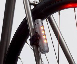 Fabric USB Bike Light