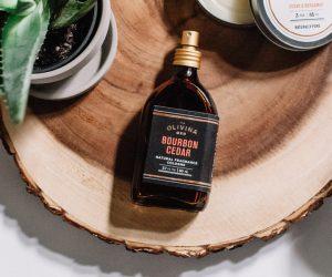 Olivina Bourbon Cedar Cologne