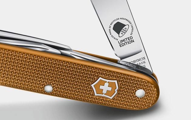 Victorinox Pioneer Nespresso Knife Gearculture
