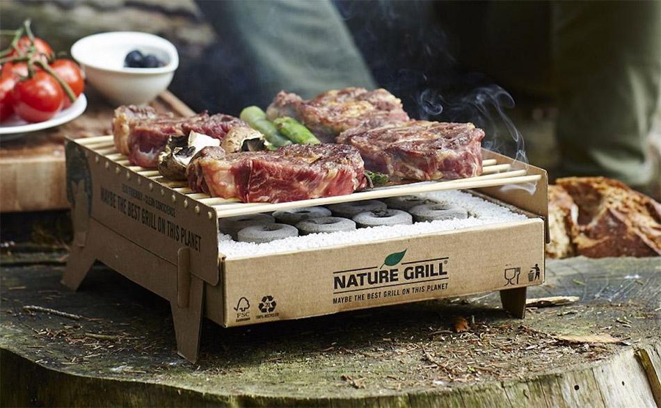CasusGrill Biodegradable BBQ