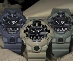 G-Shock GA700 Utility Color Collection