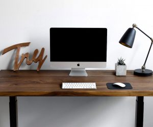 Sway Height-Adjustable Desk