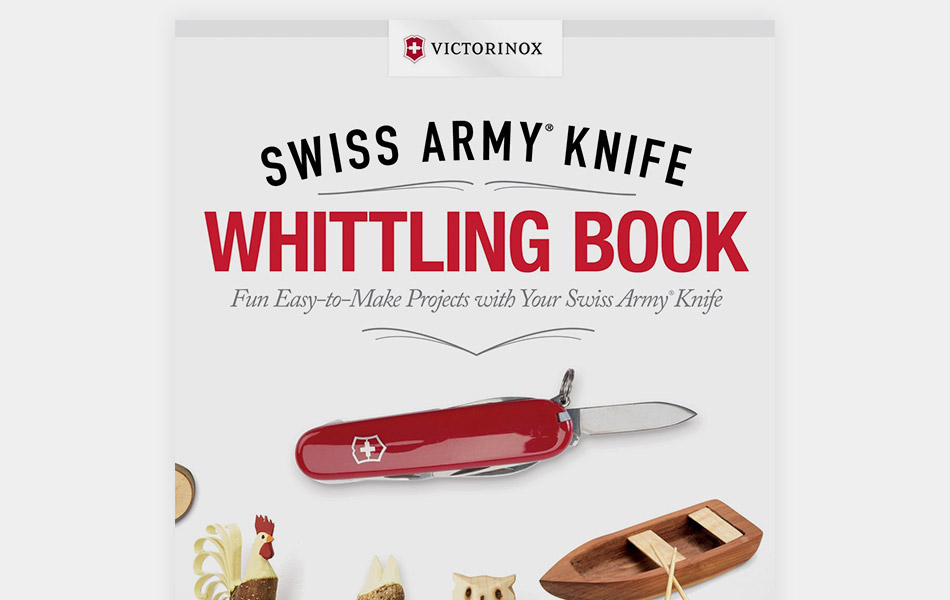 Victorinox Swiss Army Knife Whittling Book Gearculture