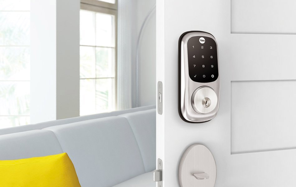 Yale Real Living Keyed Touchscreen Deadbolt