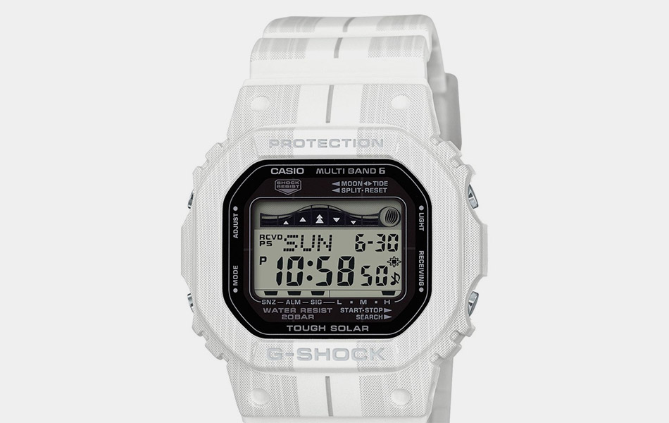G-Shock Digital Solar Tide Graphic Watch