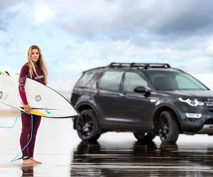 LandRover Recycled Surfboard