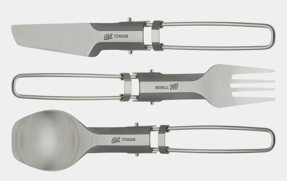 Esbit Folding Titanium Utensils