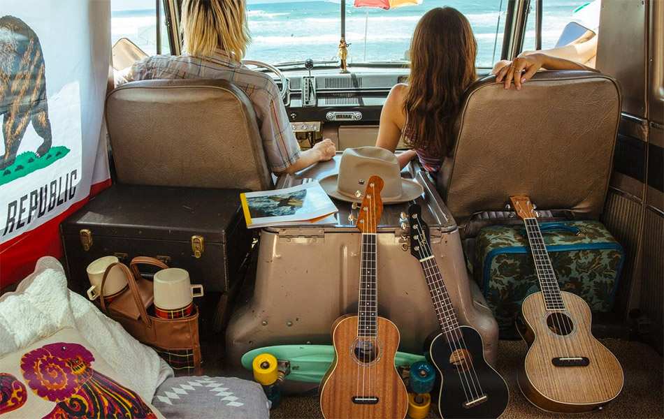 Fender California Coast Ukulele Series
