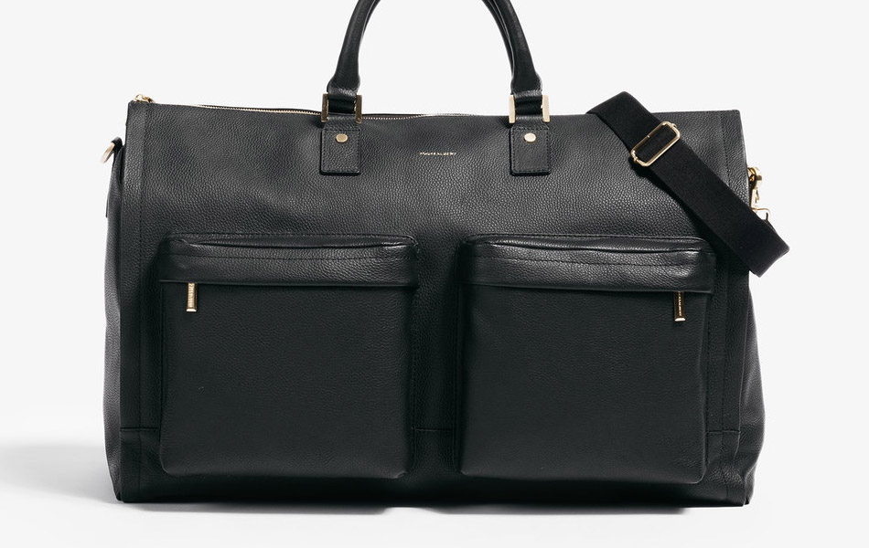 Hook & Albert Leather Garment Weekender