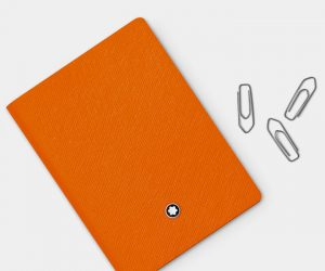 Monblanc Lucky Orange Notebook