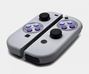 SNES Super Nintendo Classic JoyCon Controllers