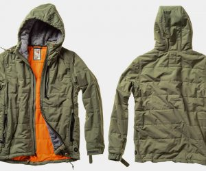 Relwen Cross-Quilt Jacket