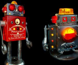Brauer Robot Sculptures