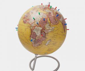 Magnetic Standing World Globe