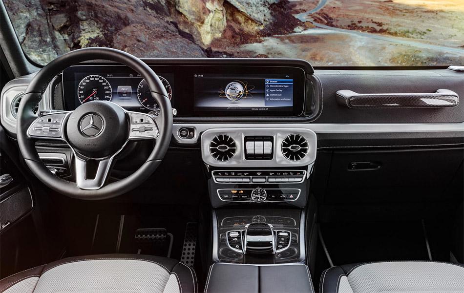 Mercedes G-Class Interior