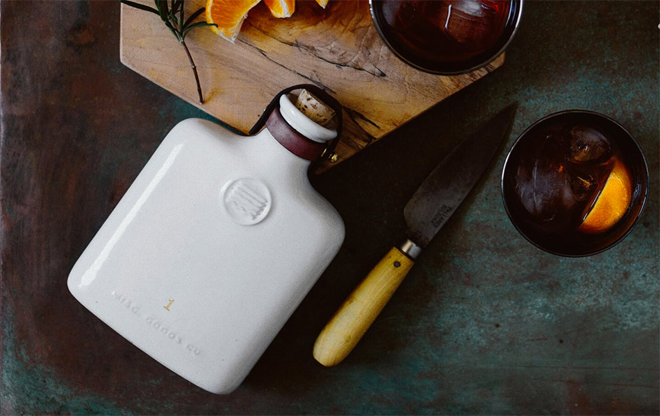 Misc Goods Ceramic Flask